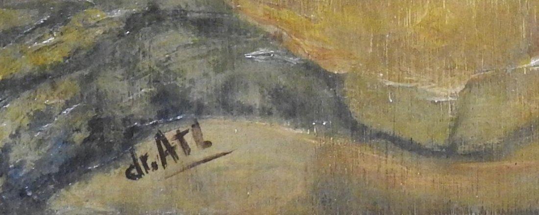 Gerardio Murillo Cornado Acryllic/wood, measures 15 x 2 - 2