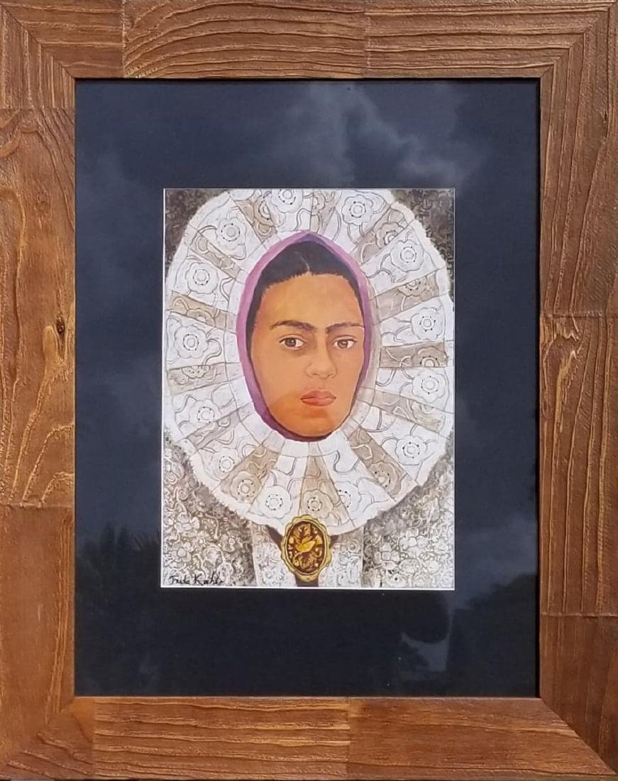 Frida Kahlo (1907-1954) ,was aMexican painter , who