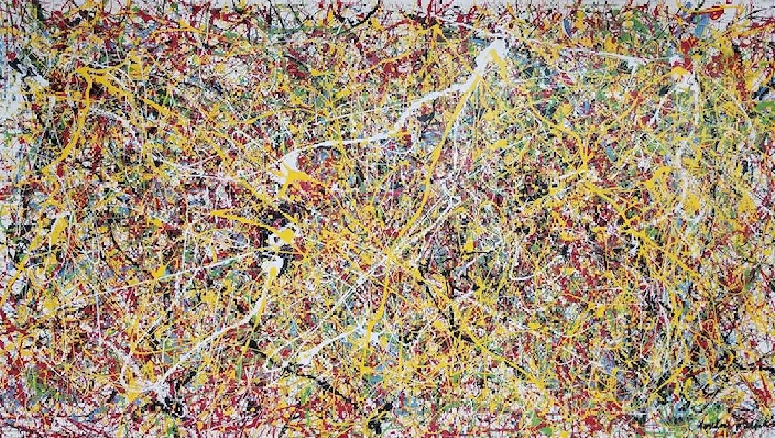 Jackson Pollock was an American painter and a major