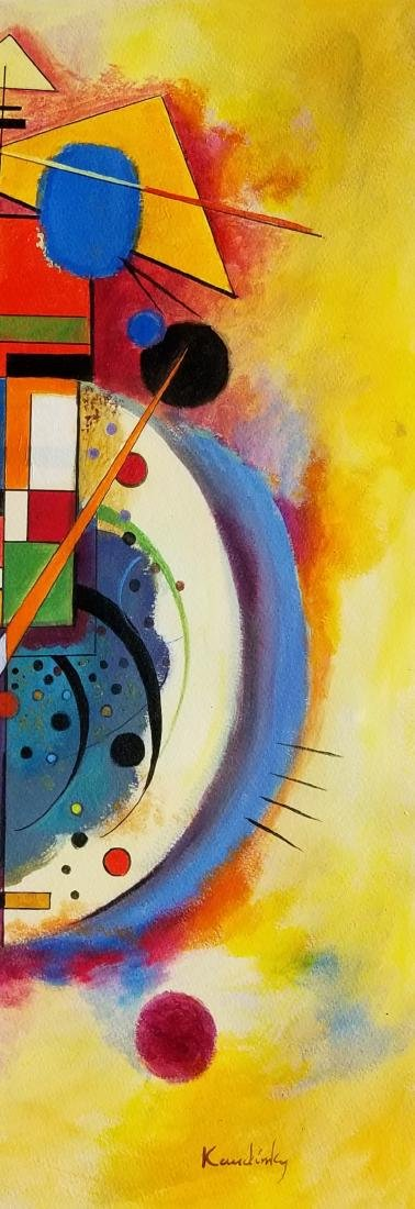 Wassily Wassilyevich Kandinsky was a Russian painter - 2