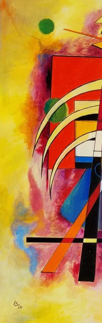 Wassily Wassilyevich Kandinsky was a Russian painter - 3