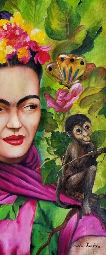 Frida Kahlo (1907-1954) was a Mexican painter who - 2