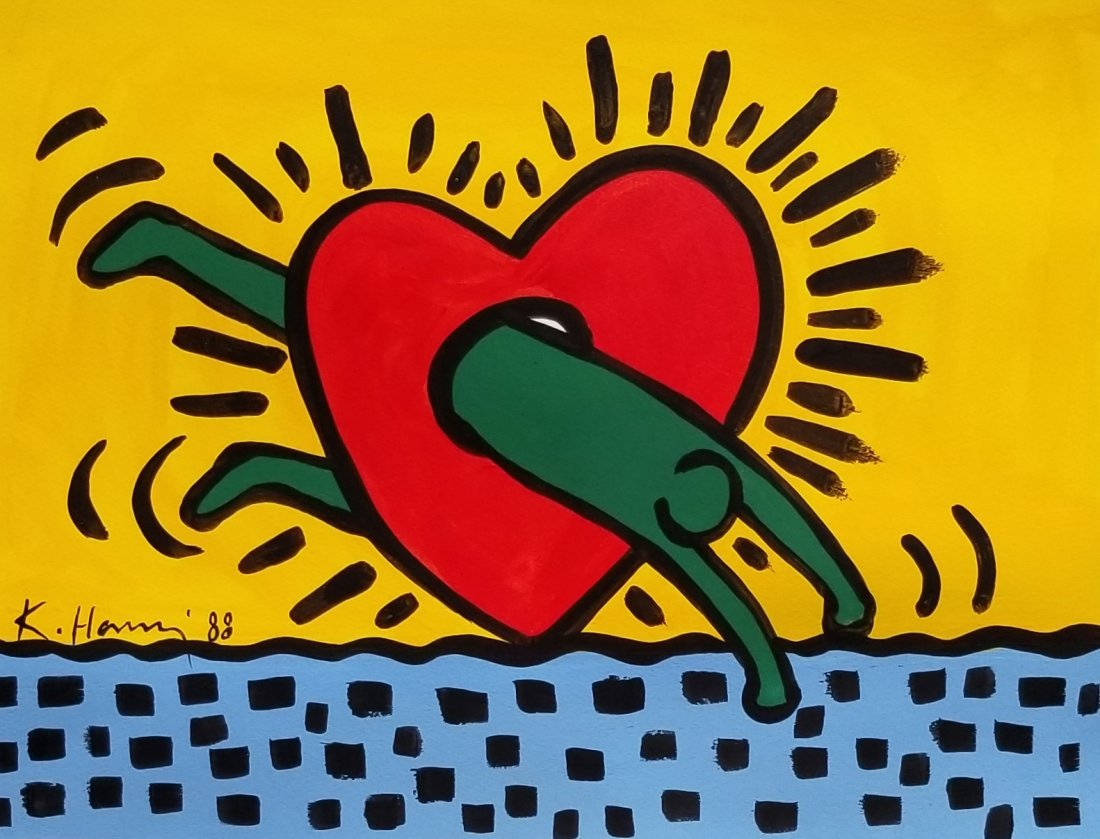 Keith Haring_was an American artist and social activist
