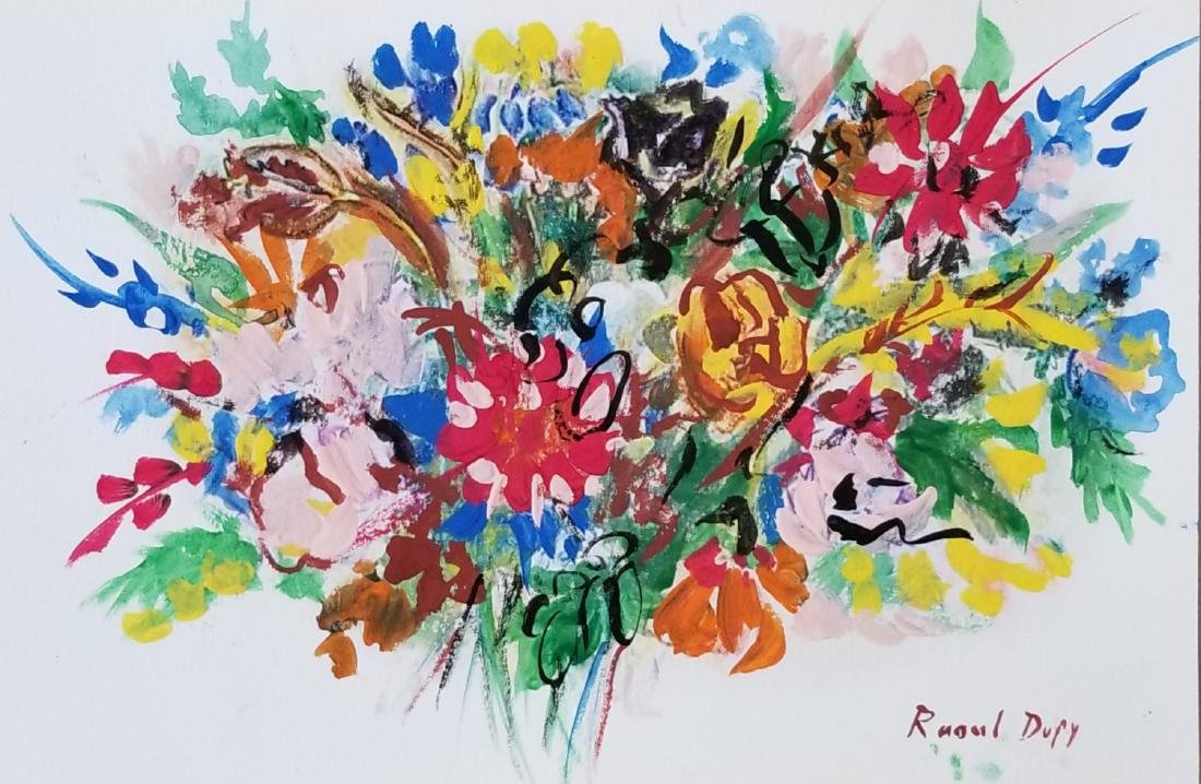 Raoul Dufy was a French Fauvist painter, brother of
