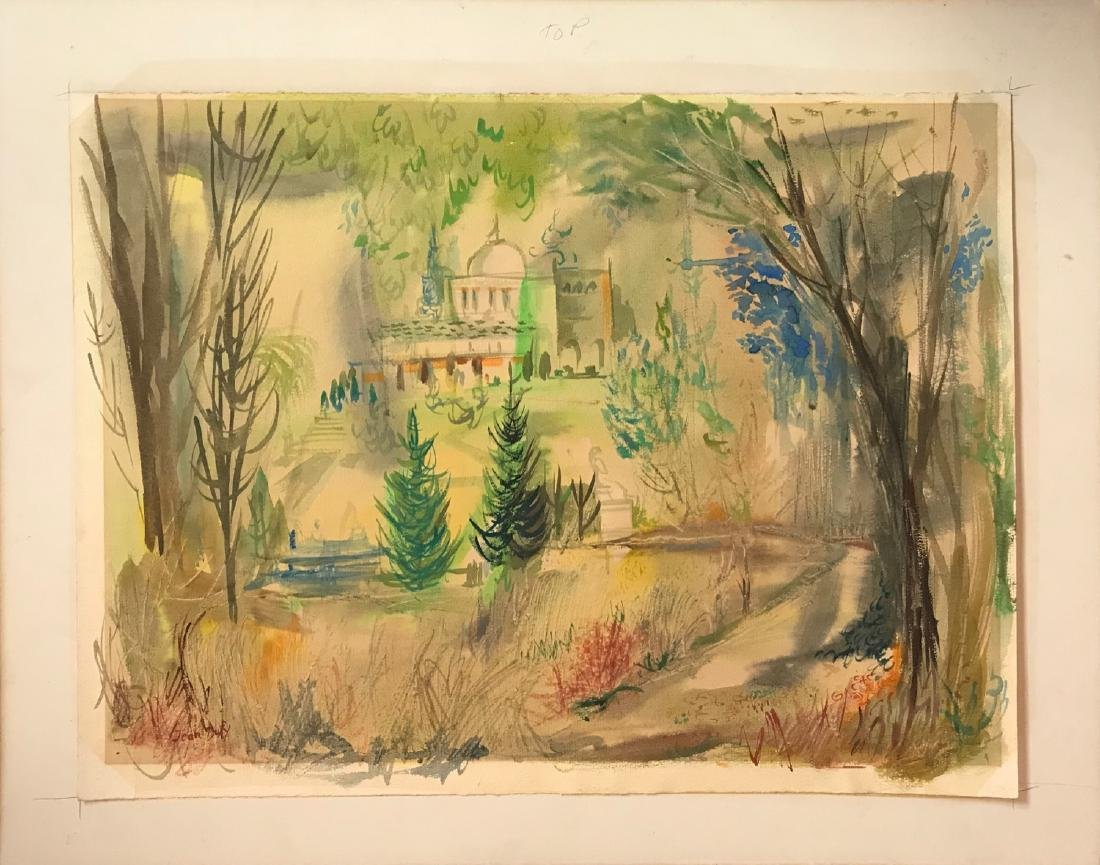Jean Dufy was active/lived in France.  Jean Dufy is