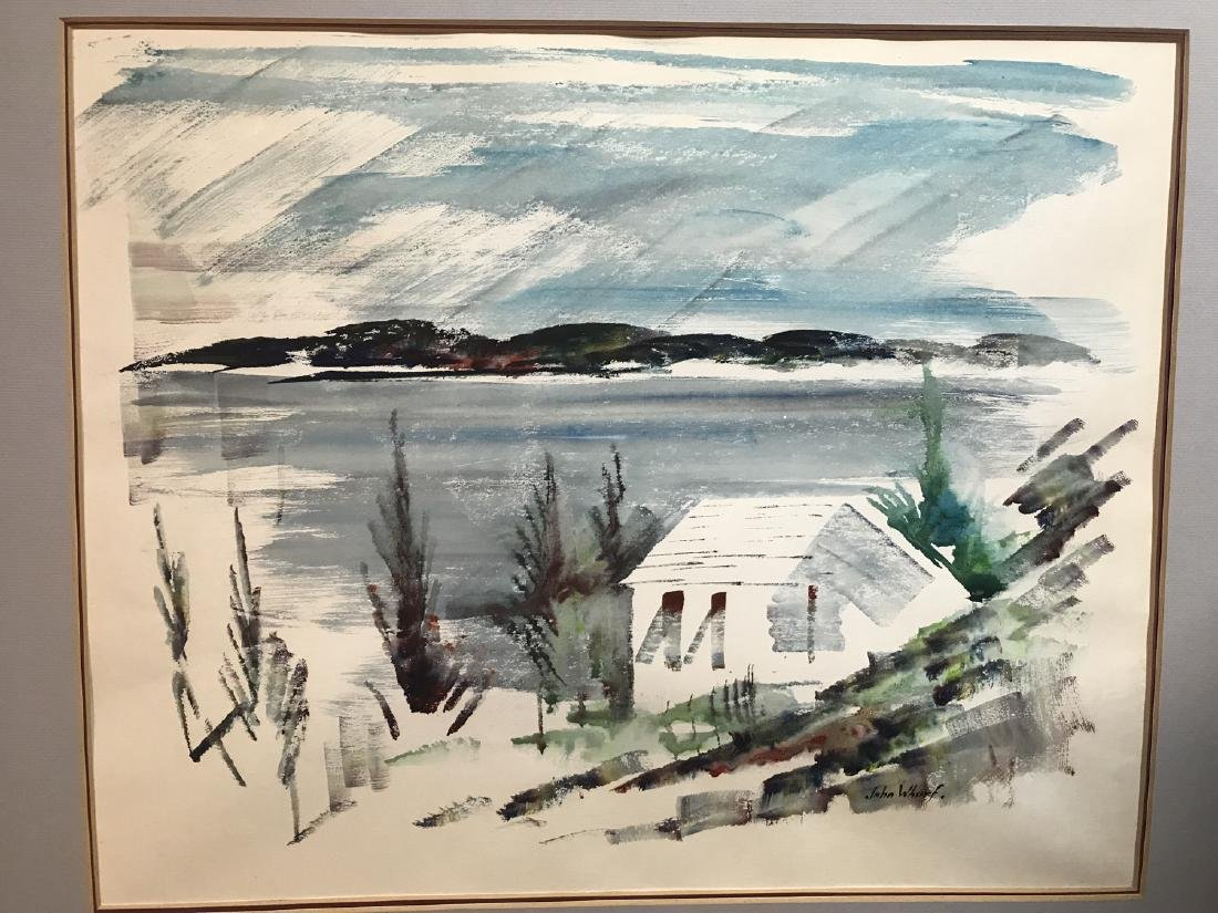 John Whorf  (1903 - 1959), Watercolor / Paper,signed