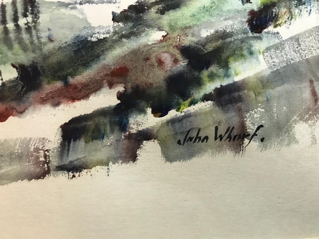 John Whorf  (1903 - 1959), Watercolor / Paper,signed - 2