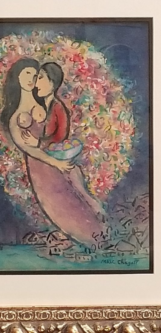 Marc  Chagall (1887-1985)was a Russian-French artist of - 2
