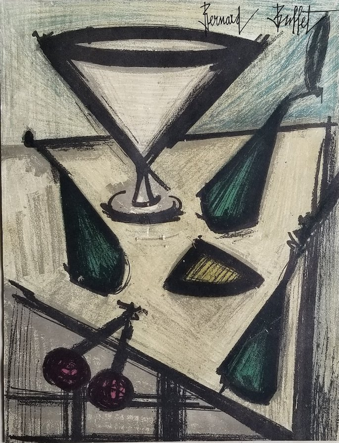Bernard Buffet was a French painter of Expressionism