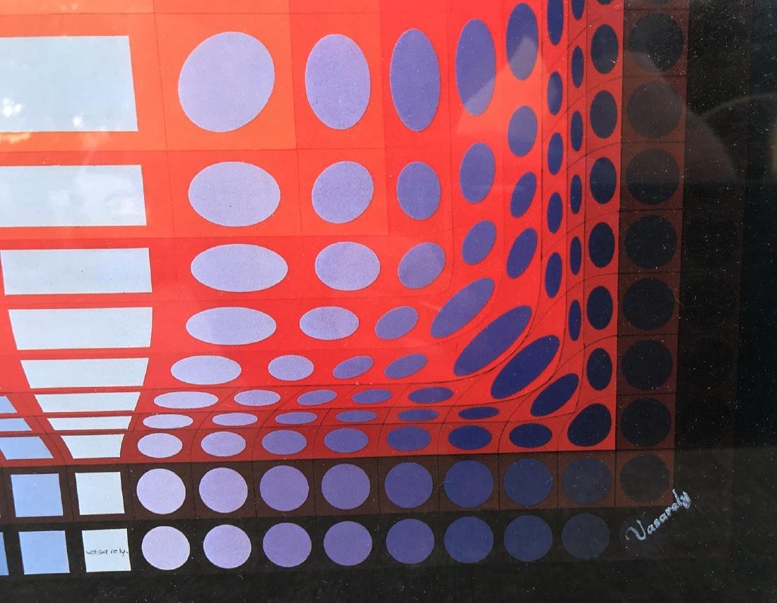 Victor Vasarely Screen-Print signed - 2