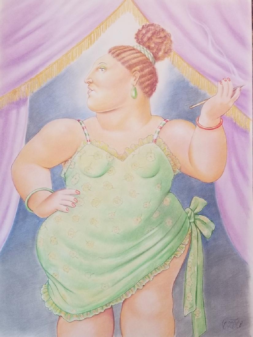 Fernando Botero Contemporary artist from Colombia