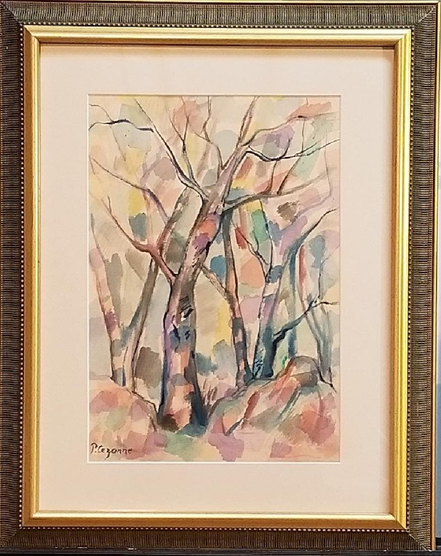 Paul Cezanne was a French artist and Post-Impressionist