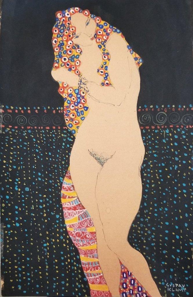 Gustav Klimt was an Austrian symbolist painter and one