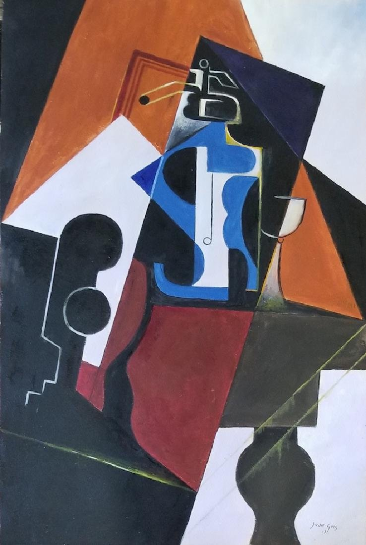 Juan Gris, was a Spanish painter born in Madrid who