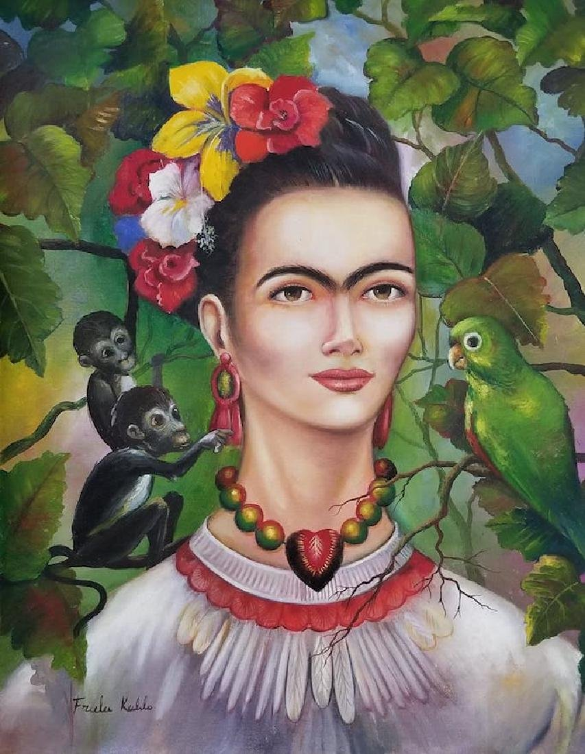 Frida Kahlo (1907-1954) was a Mexican painter who