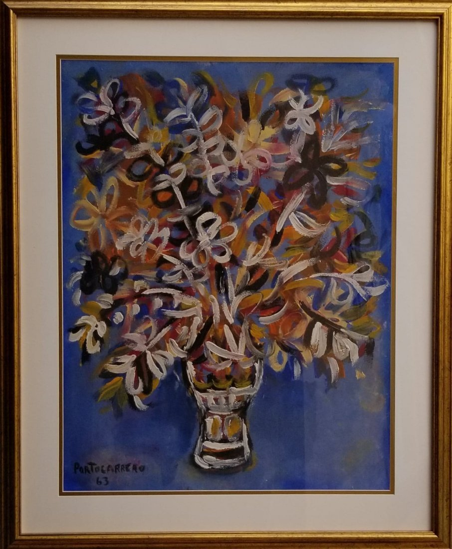 Rene Portocarrero (1912-1986) Cuban Artist (attrib