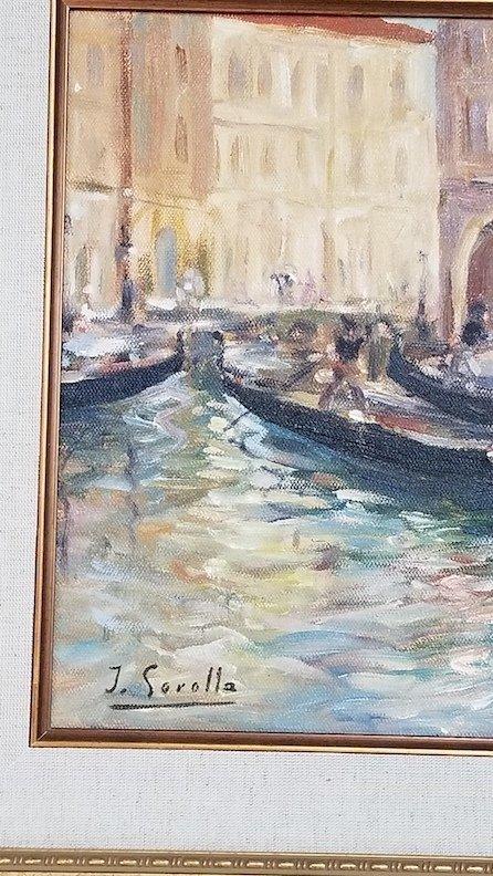 Joaquin Sorolla y Bastida (1863-1923)-  (attrib)(coa) - - 2