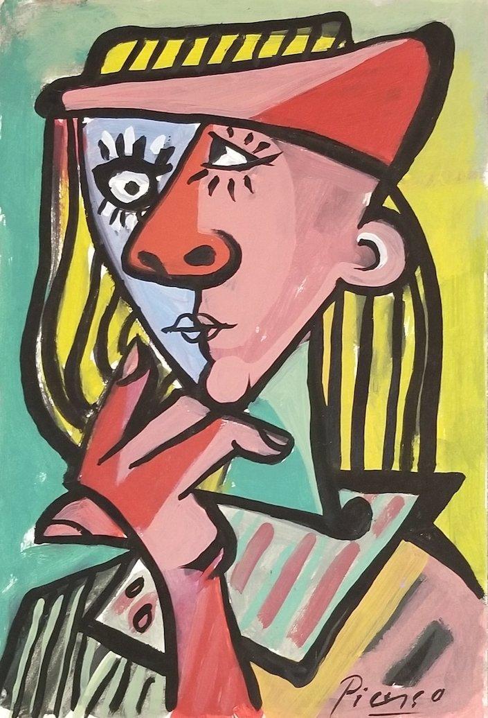 Pablo Picasso was a Spanish painter, sculptor, printmak