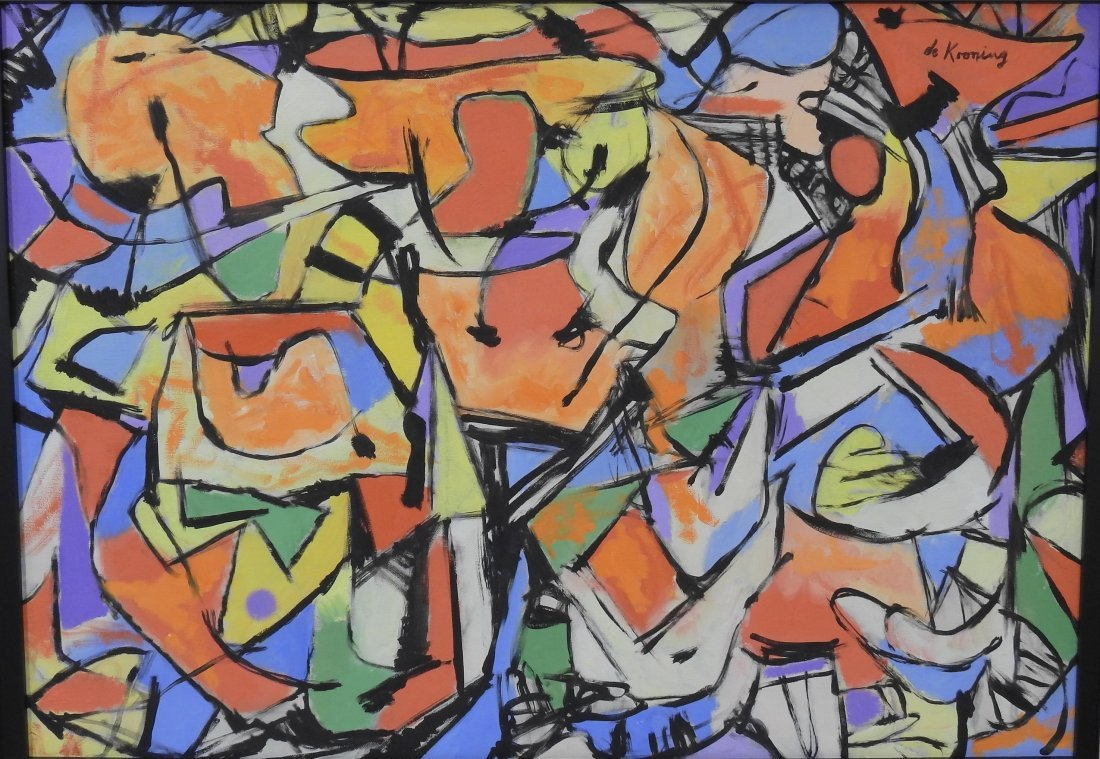 Willem de Kooning_was a renowned American-Dutch_painter