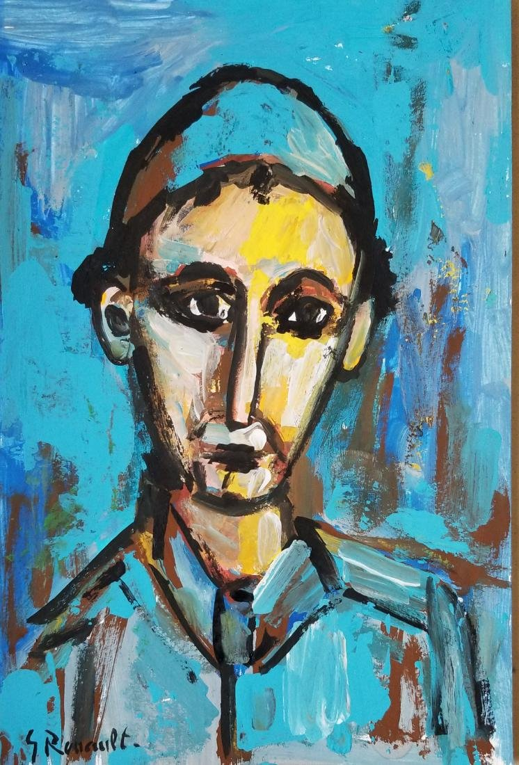 George Rouault was a French painter, draughtsman, and