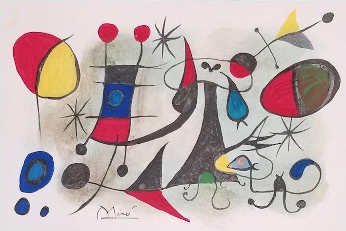 Joan Miro (1893-1983)- Spanish Painter, sculptor ad cer