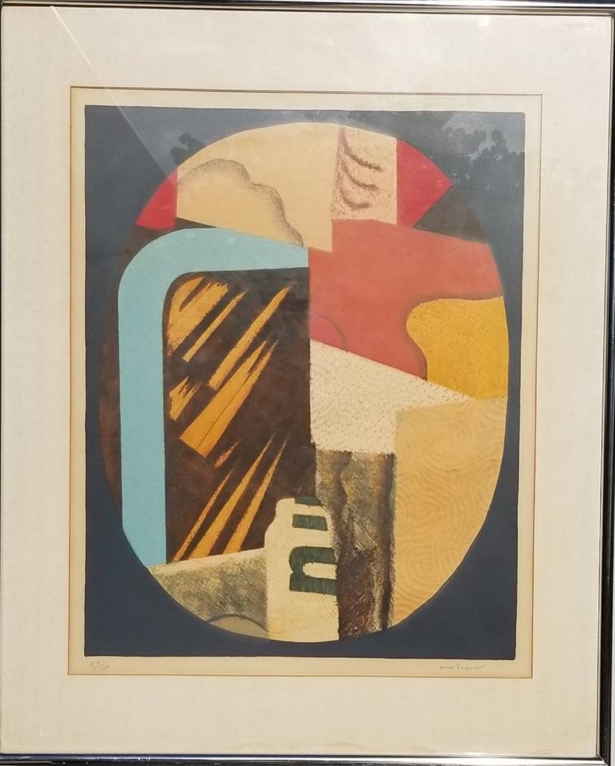 Max Papart- Original Lithograph signed/Numbered-53/100