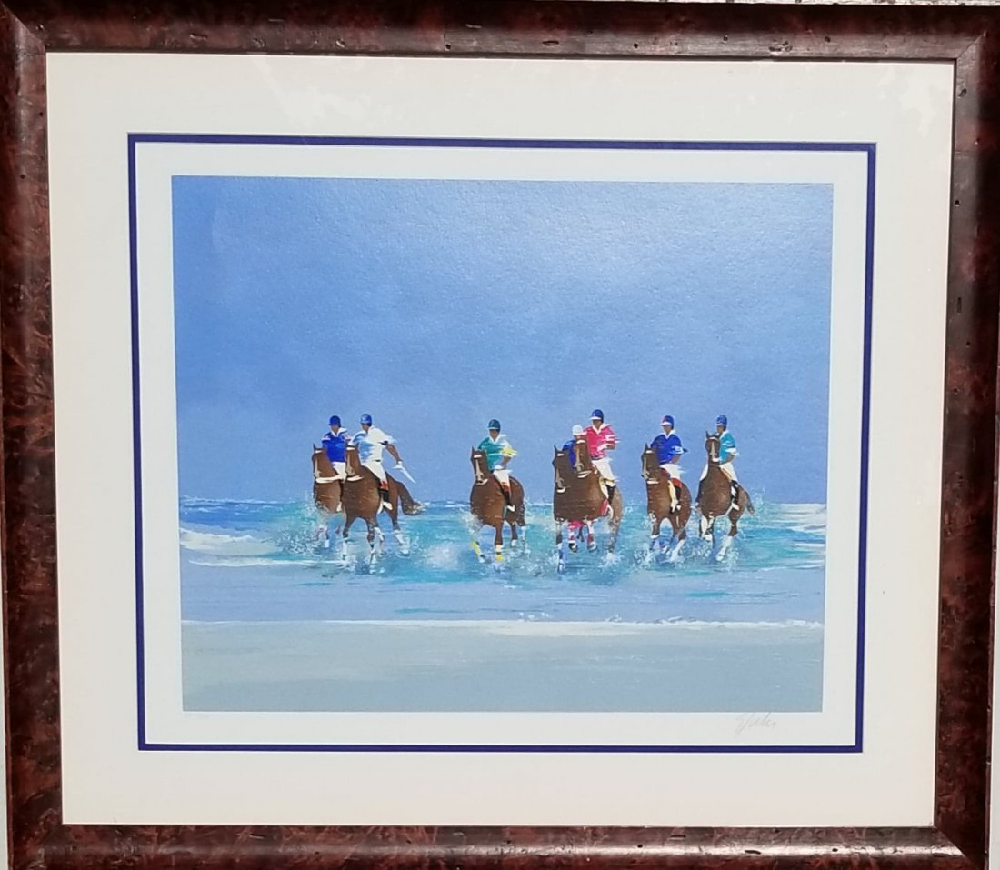 Victor Spahn-Original Lithograph-signed and numbered