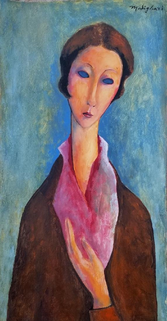 Amedeo Clemente Modigliani was an Italian Jewish