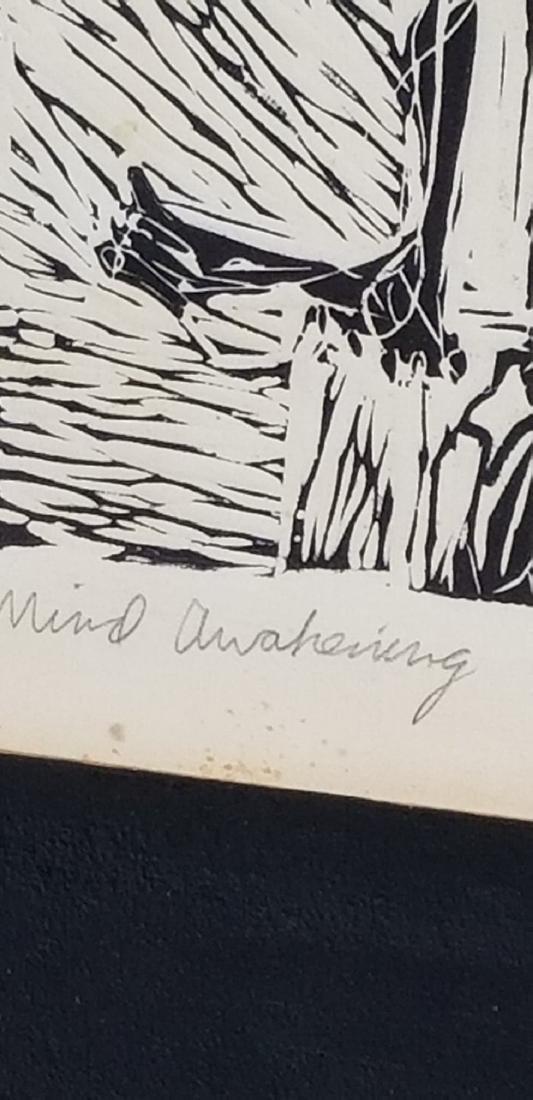 "Ken D. -Original Linotype- Size: 18""h X 14""w- Shipping - 2"