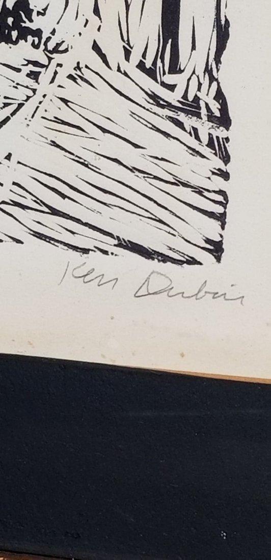 "Ken D. -Original Linotype- Size: 18""h X 14""w- Shipping - 3"