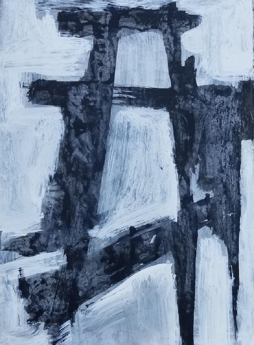 Franz Kline(1910-1962) was an American painter. He is - 2
