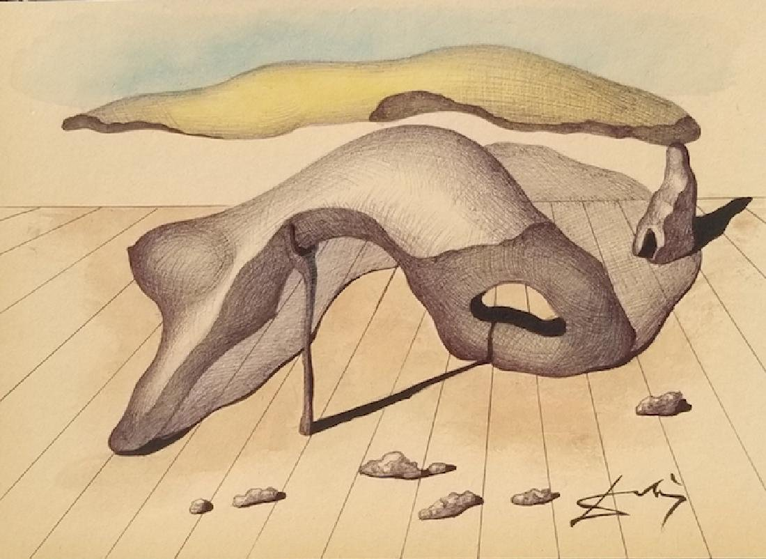 Salvador Dali was a skilled draftsman, best known for