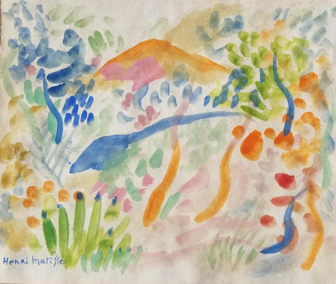 Henri Matisse (1869-1954) Was a French artist known for