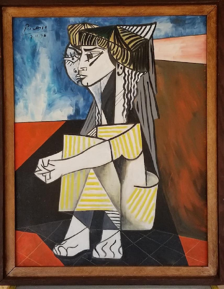 Pablo Ruiz Picasso_was one of the most famous artists