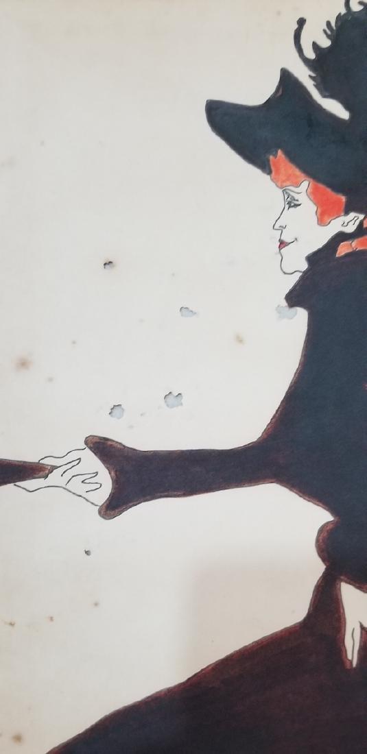 Henri de Toulouse-Lautrec was a famed 19th-century - 2