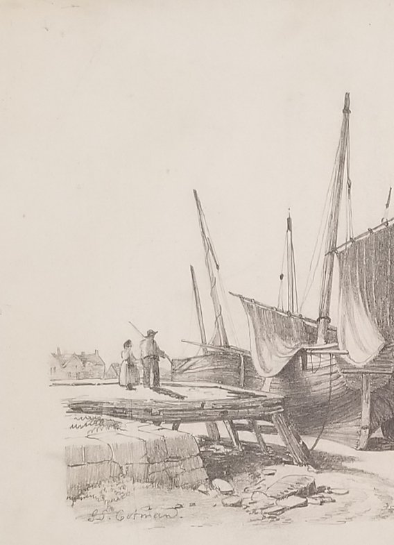John Sell Cotman was born in_Norwich, on 16 May 1782, - 2