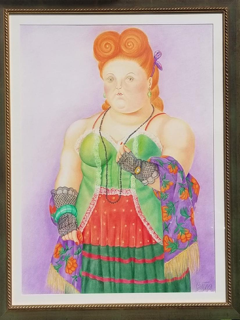 Fernando Botero Contemporary artist from Colombia