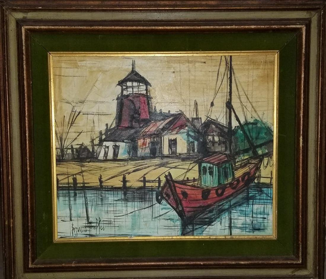 Bernard Buffet(1928-1999) was a French painter of