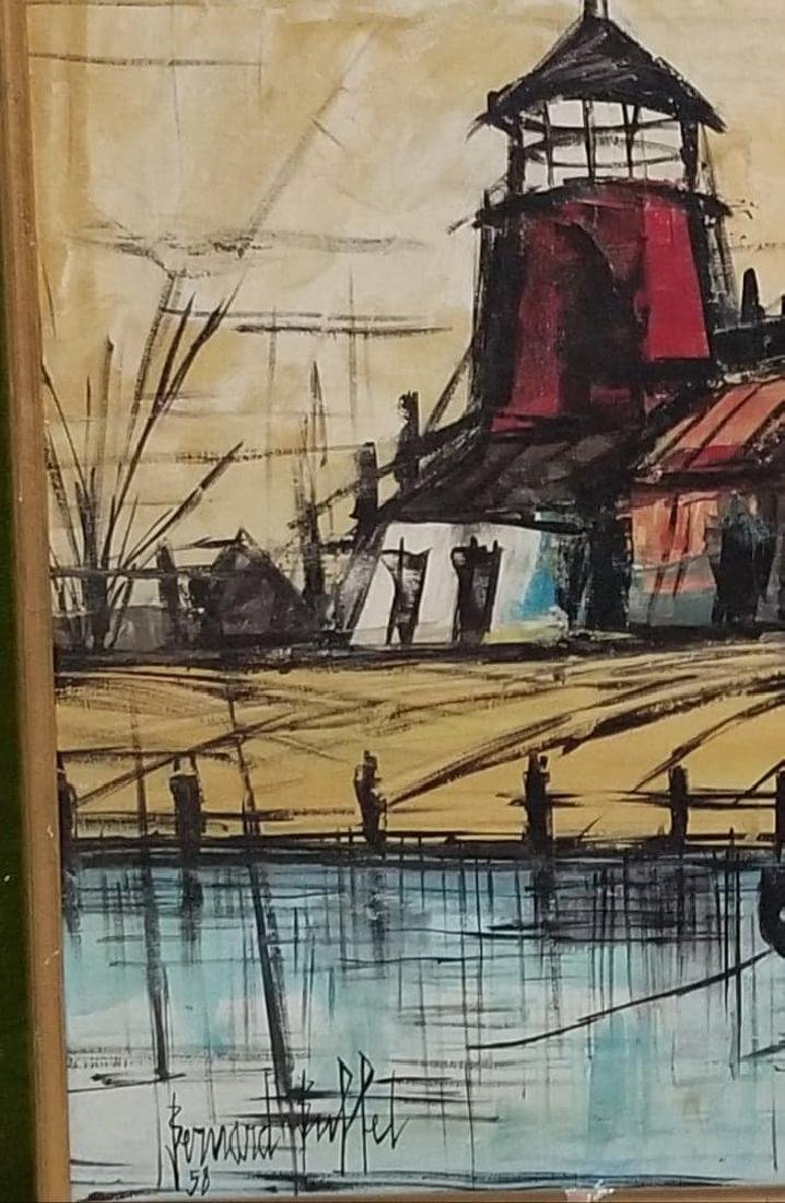 Bernard Buffet(1928-1999) was a French painter of - 2