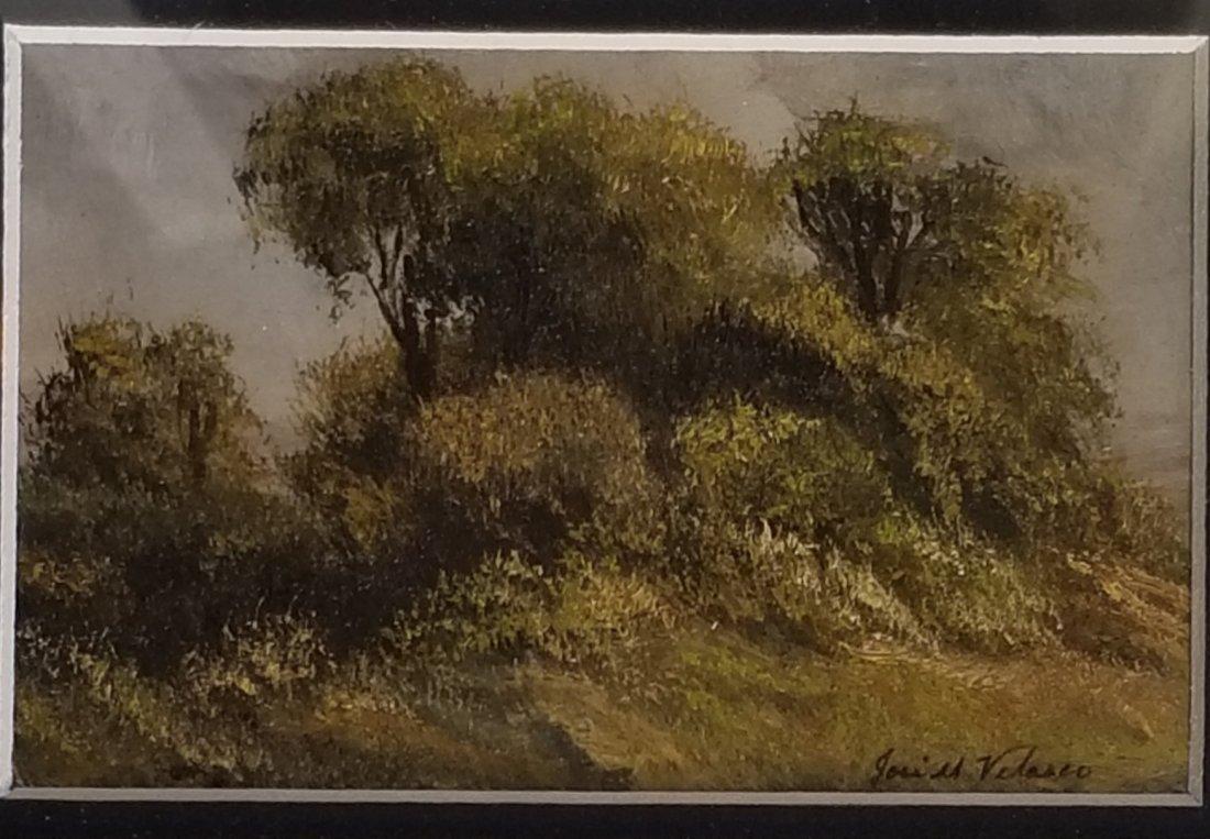 Jose Maria Velasco (1840-1912)-Oil on Board-ATTRIB.