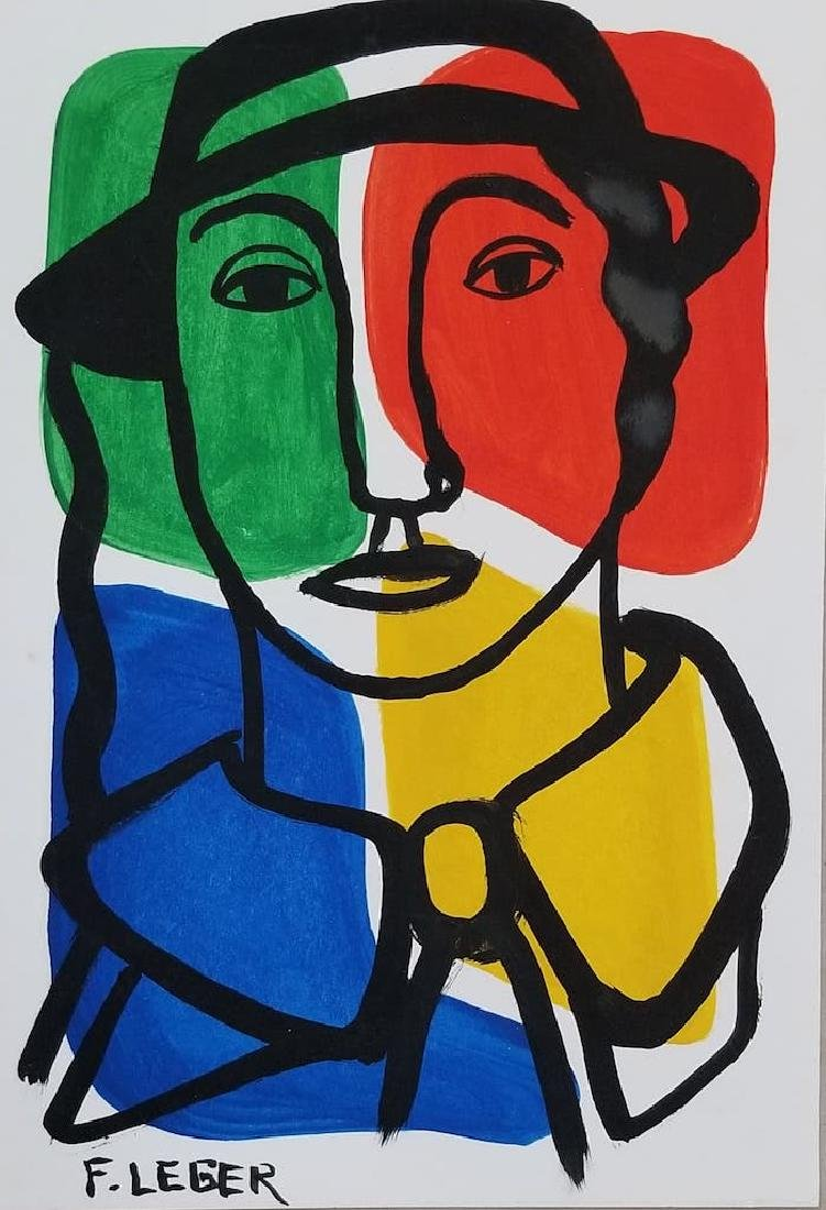 Fernand  Leger was a French painter, sculptor, and