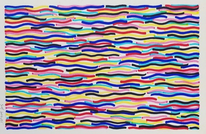 Sol LeWitt (1928-2007) was pivotal in the creation of