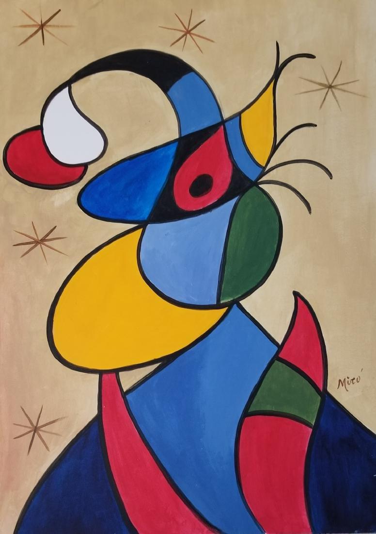 Joan Miro (1893-1983)- Spanish Painter, sculptor ad