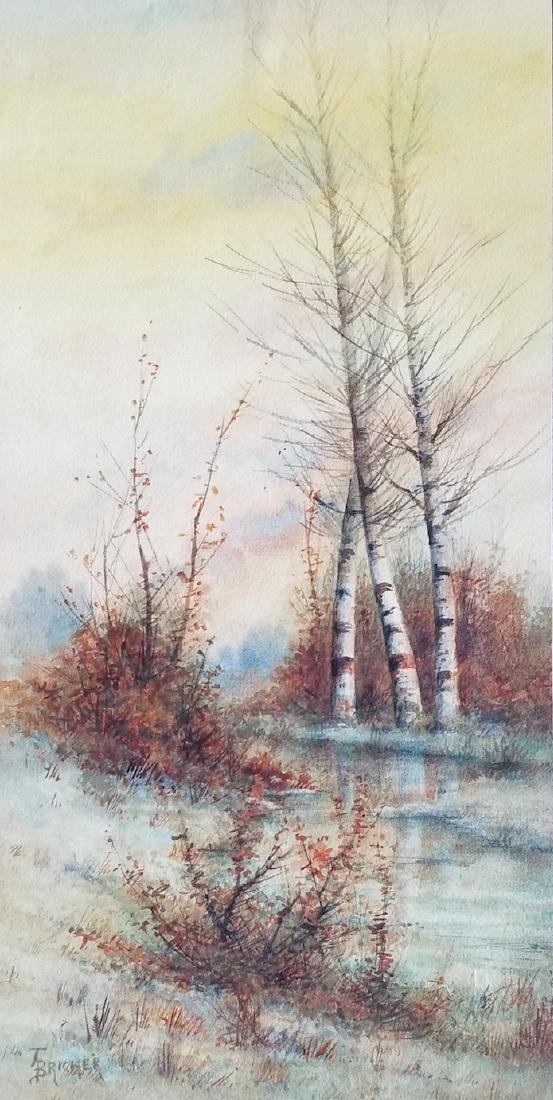 Alfred Thompson Bricher (1837-1908)was a American