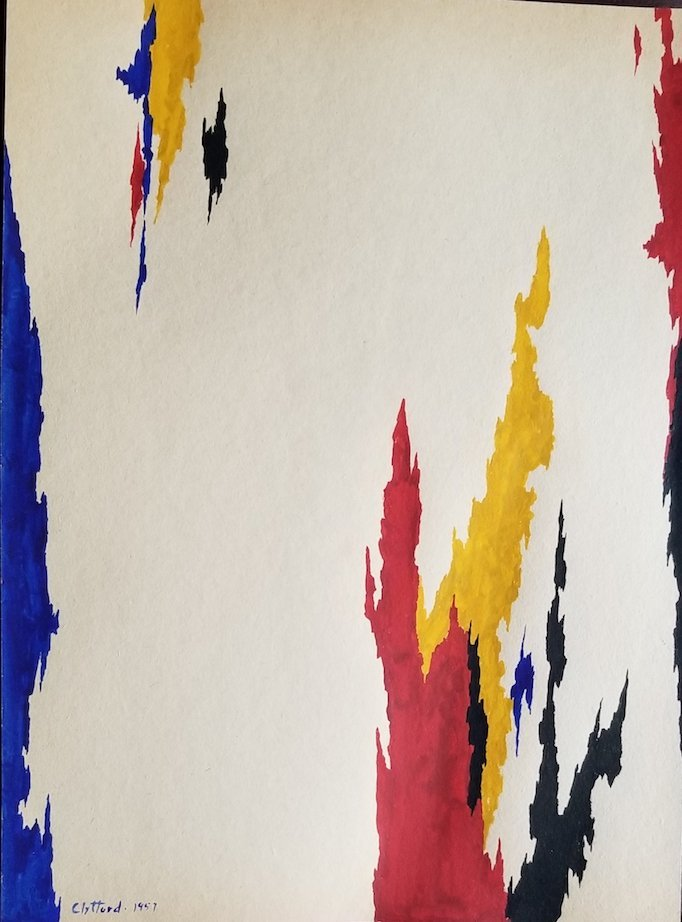 Clyfford Still was an American painter, and one of the