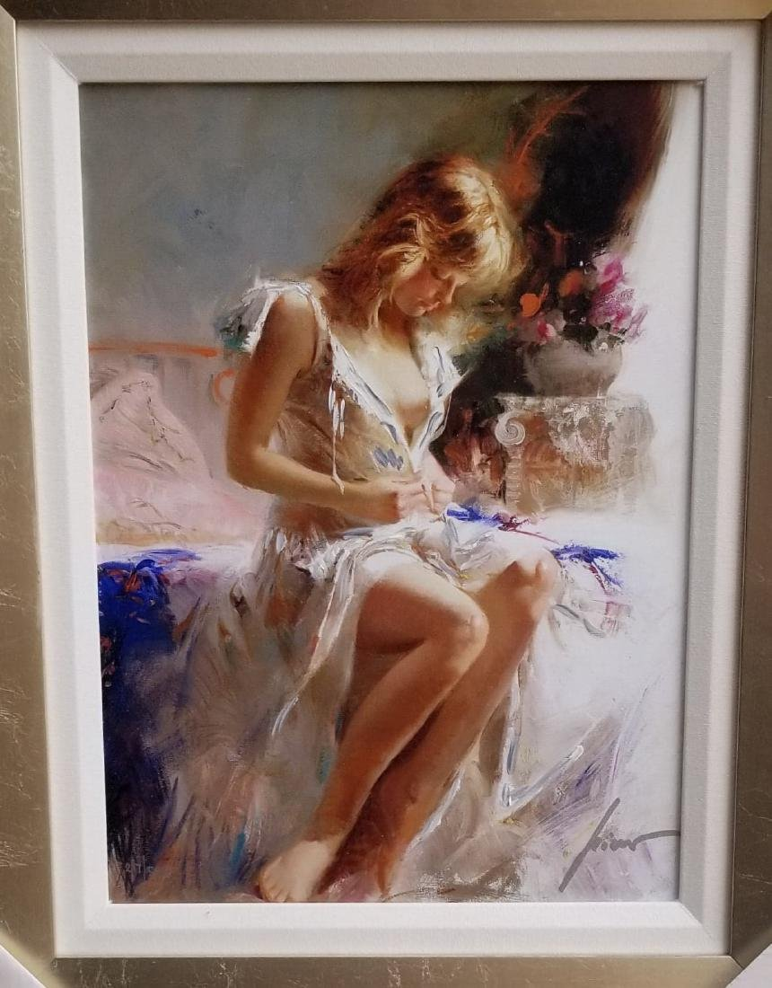 Early Morning, Giclee , Numbered ,and signed oil on