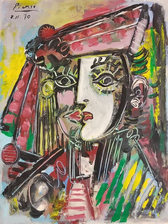 Pablo Picasso was a Spanish painter, sculptor,