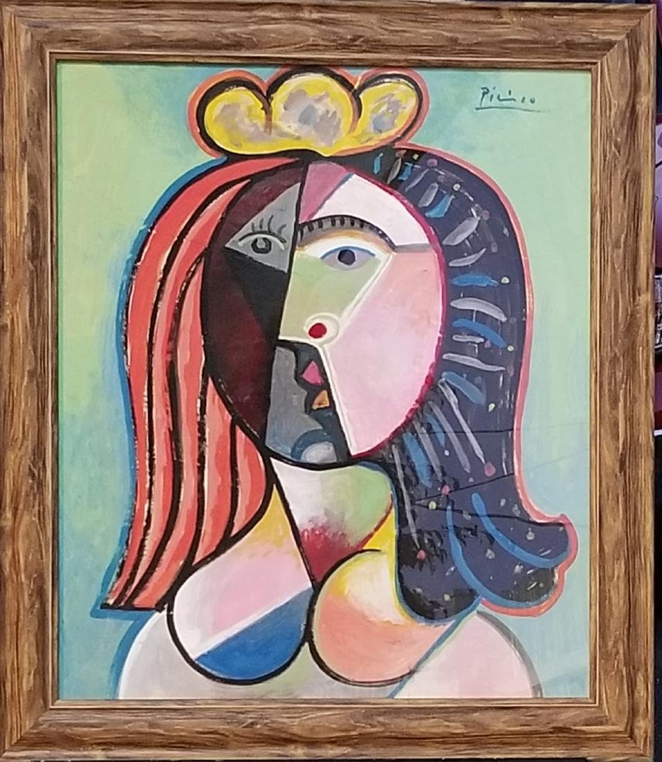 Pablo Picasso was a Spanish In the style of painter,