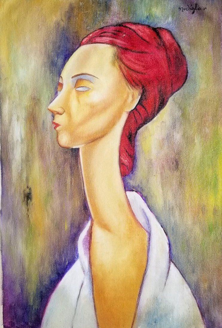 Amedeo  Modigliani was an Italian Jewish , in the style