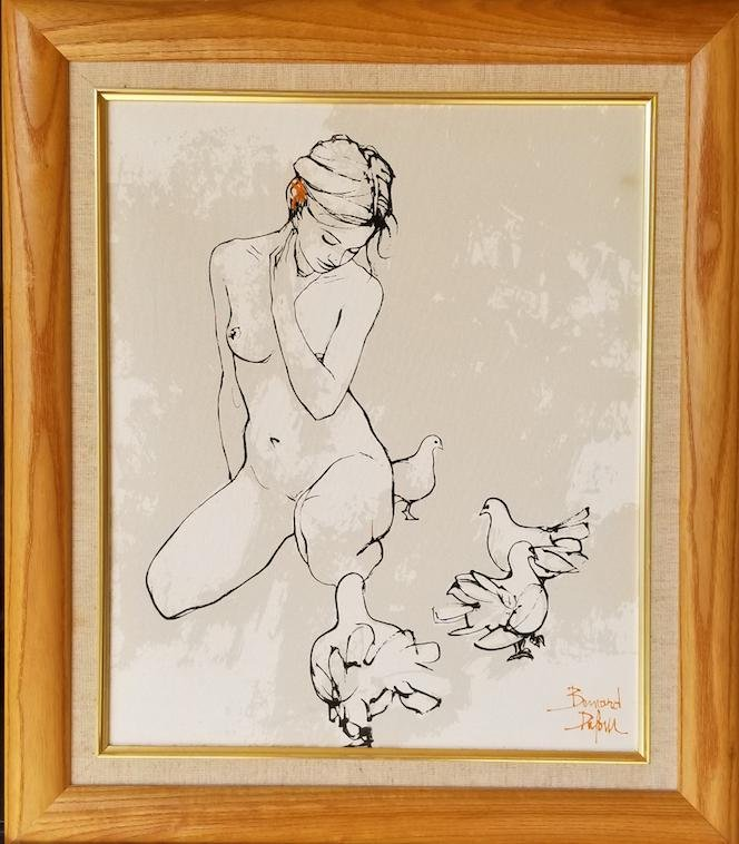 Bernard Dufour was a French painter. He was notable for